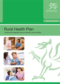 Wales Rural Health Strategy report cover